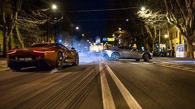 James Bond - SPECTRE : Un duel Aston Martin DB10-Jaguar C-X75 pour 007