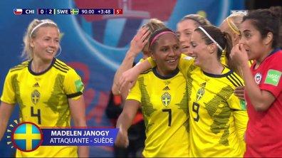 Chili - Suède (0 - 2) : Voir le but de Janogy en vidéo