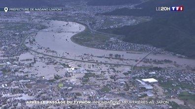 Japon : inondations meurtrières après le passage du typhon Hagibis