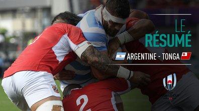 Argentine - Tonga : Voir le résumé du match en vidéo