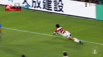 Japon - Samoa (31 - 19) : Voir l'essai de Fukuoka en vidéo