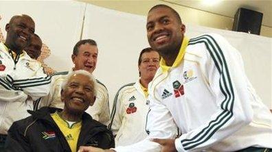 JDM : Mandela a reçu les Bafana Bafana