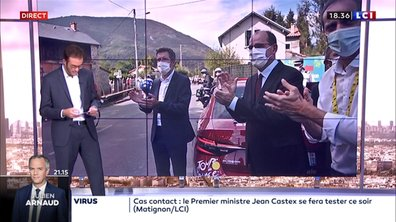 Jean Castex déclaré cas contact : que s'est-il passé ?