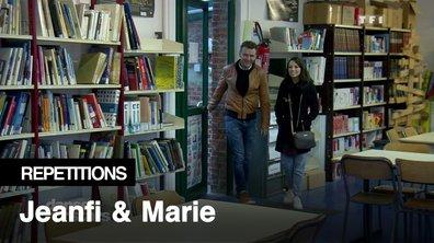 Répétitions - Retour sur les bancs de l'école pour Jeanfi Janssens et Marie