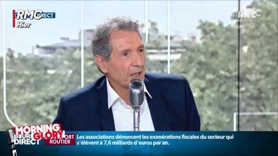 Jean-Jacques Bourdin pris en flagrant-délit d'inattention