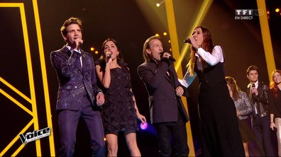 The Voice 4 - REPLAY TF1 : Revivez le premier Direct du samedi 4 avril 2015 sur MYTF1