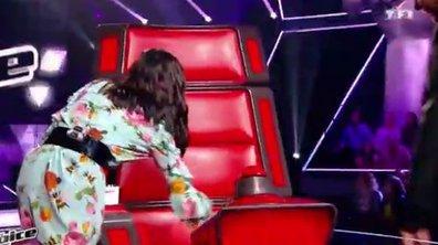 """Quand Jenifer et Patrick Fiori """"sabotent"""" le fauteuil de M Pokora ! (Vidéo)"""