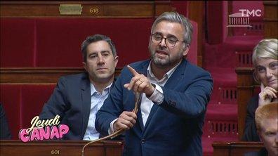 Jeudi Canap : Delevoye bien accueilli, Corbière en super forme, … les Foufous de l'Assemblée