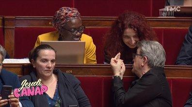 Jeudi Canap : mais qu'a dit Jean-Luc Mélenchon chez les Foufous de l'Assemblée ?