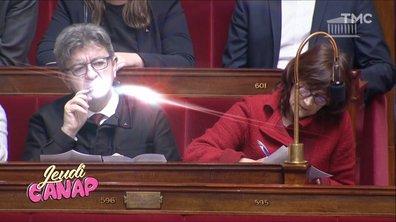 Jeudi Canap : Mélenchon se prend pour Harry Potter dans les Foufous de l'Assemblée