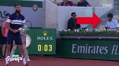 Jeudi Transpi : l'homme qui avait mieux à faire que de regarder Roland Garros