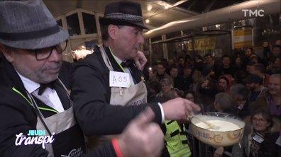 Jeudi Transpi : la génialissime finale du championnat de fondue