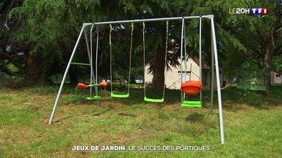 Jeux de jardin : le succès des portiques