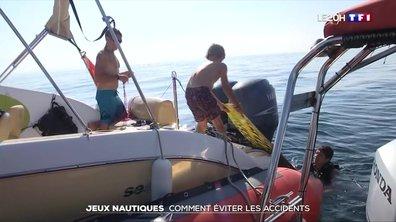 Jeux nautiques : comment éviter les accidents