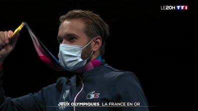 Jeux olympiques de Tokyo : la France en or