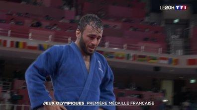 Jeux olympiques de Tokyo : première médaille française avec le judo