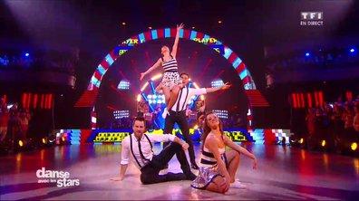 Un Jive en duo pour les couples Olivier Dion / Denitsa et Fabienne Carat / Christian sur « Lili voulait aller danser » (Julien Clerc)