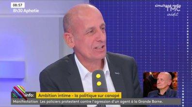 Le groupe de rock France Info de Jean-Michel Aphatie