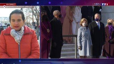 Joe Biden investi : quatre présidents américains réunis au cimetière d'Arlington