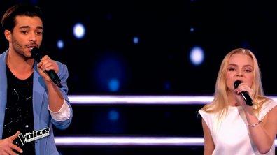 The Voice 4 - Les battles : Johanna Serrano élimine Théo Road
