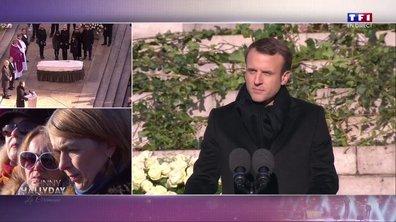 Hommage à Johnny : le discours d'Emmanuel Macron