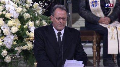 Hommage à Johnny Hallyday : l'éloge funèbre de Jean Reno