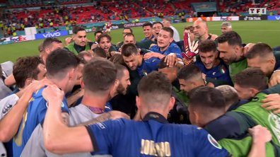 Italie - Autriche (2 - 1) : Voir la joie des Italiens après le match en vidéo