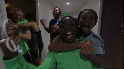 L'ÉNORME joie des Nigérianes, qualifiées pour les 8es de finale !