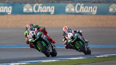 Superbike – Thaïlande 2016 : une victoire chacun pour les pilotes Kawasaki