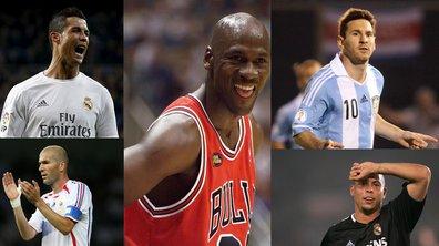 Messi, Ronaldo, Zidane... Qui est le Michael Jordan du football ?