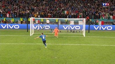 Italie - Espagne (1 - 1) : Voir le tir au but décisif de Jorginho en vidéo