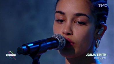 """Jorja Smith : """"Blue Lights"""" en live pour Quotidien"""