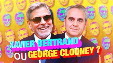 """Jouez à """"Xavier Bertrand ou George Clooney ?"""""""