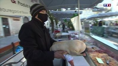 Jour de marché au gras à Périgueux
