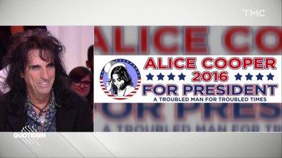 Ce jour où Alice Cooper a FAILLI devenir président