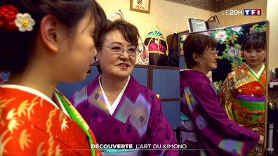 À la découverte de l'art japonais du kimono