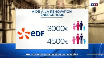 Aide à la rénovation énergétique : la prime d'EDF pour changer de chaudière