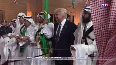 En Arabie saoudite, Donald Trump se montre pragmatique