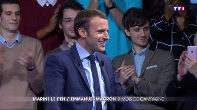 De leur candidature au débat d'entre-deux-tours, retour sur les parcours d'Emmanuel Macron et de Marine Le Pen