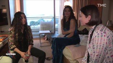 """Le journal de Cannes : la tchatche des actrices de """"À genoux les gars"""""""