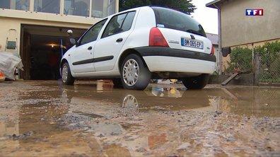 De violents orages ont frappé la commune de Mont-sous-Vaudrey