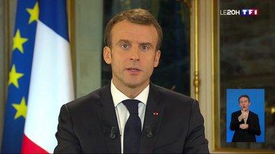 Gilets jaunes : revivez l'intégralité de l'allocution d'Emmanuel Macron