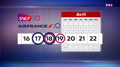 Grèves : Air France et la SNCF campent sur leurs positions