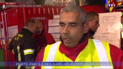 Incendie à Notre-Dame de Paris : le mode opératoire des sapeurs-pompiers de Paris