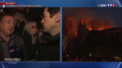 Incendie à Notre-Dame de Paris : les Parisiens réagissent à ce drame