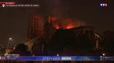 """Incendie à Notre-Dame de Paris : Stéphane Bern """"sidéré et dévasté"""