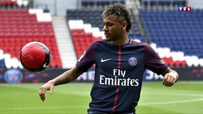 Neymar débute son entraînement au PSG