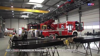En Normandie, une entreprise qui fait des exportations à grande échelle (de camions de pompiers)