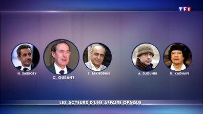 Qui sont les personnages clés de l'affaire du financement libyen ?