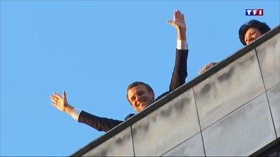 Présidentielle : la folle soirée d'Emmanuel Macron